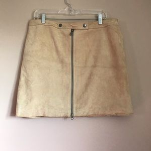 Michael Kohrs Suede Tan Skirt
